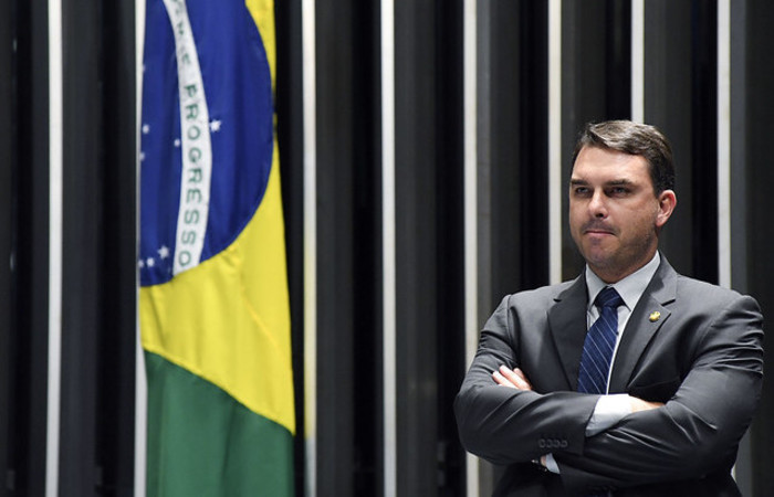 Flávio disse que se a CPI funcionasse, todas as outras comissões parlamentares de inquérito deveriam funcionar também (Foto: Jefferson Rudy/Agência Brasil )