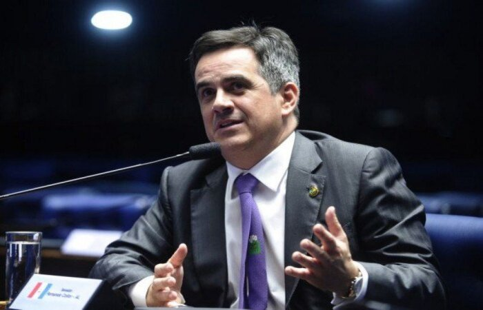 Parlamentar é considerado aliado do governo, mas votou junto com a oposição na composição do colegiado  (crédito: Marcos Oliveira/Agencia Senado)