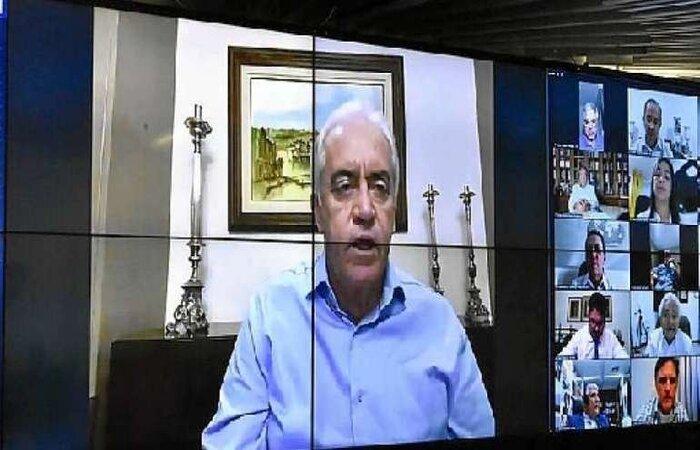 Otto Alencar comentou o vai e vem judicial, último ato do governo para tentar evitar que o emedebista Renan Calheiros assumisse a relatoria do colegiado que investigará as falhas do governo federal e de governos estaduais. (crédito: Waldemir Barreto/Agencia Senado)