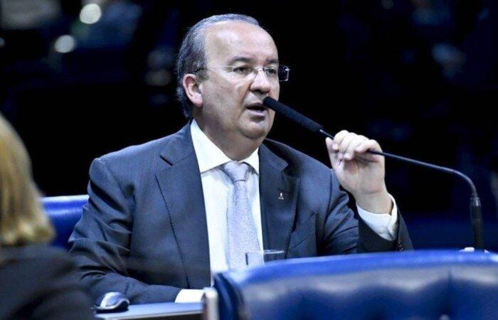 Segundo o senador Jorginho Mello (PL-SC), há conflito de interesses na escolha, já que Renan Calheiros é pai do governador de Alagoas, que pode ser alvo de investigações da CPI  (crédito: Waldemir Barreto/Agencia Senado)