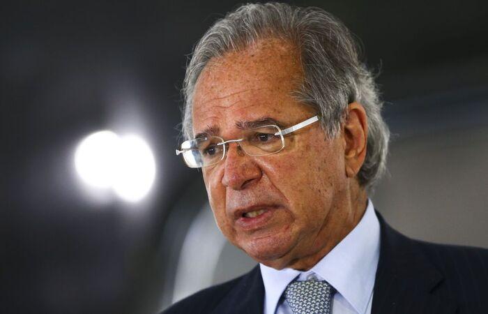 Paulo Guedes voltou a defender negociações comerciais individuais  (Marcelo Camargo/Agência Brasil)