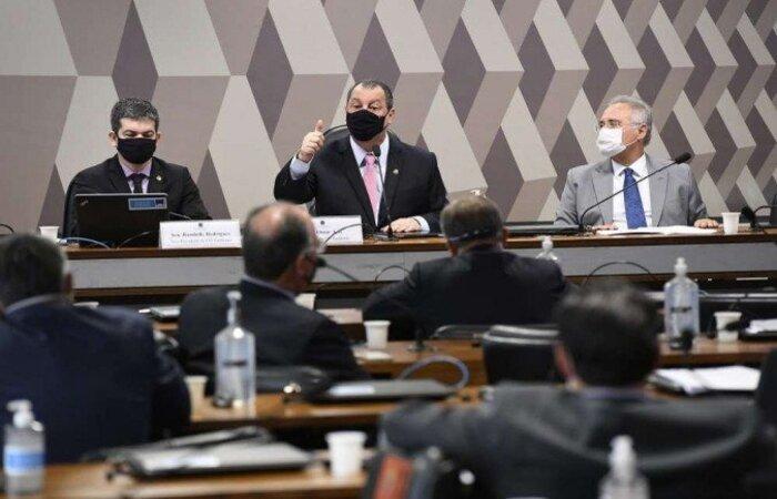 Confira os 11 requerimentos previamente acordados entre os membros da CPI da Covid e que devem integrar o plano de trabalho da comissão  (crédito: Jefferson Rudy/Agência Senado)