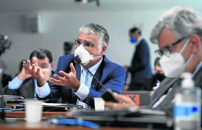 Senador encabeçou o mandado de segurança enviado ao STF para tentar derrubar a relatoria de Renan Calheiros. Ele alega que a indicação compromete a credibilidade dos trabalhos  (crédito: Edilson Rodrigues)