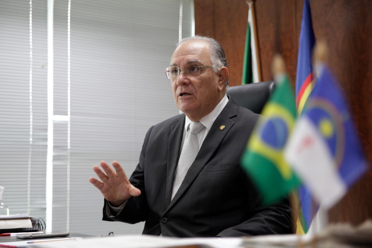 Desembargador Frederico Neves, presidente do TRE-PE e da Comissão de Ética do TJPE (Foto: Divulgação/TJPE)