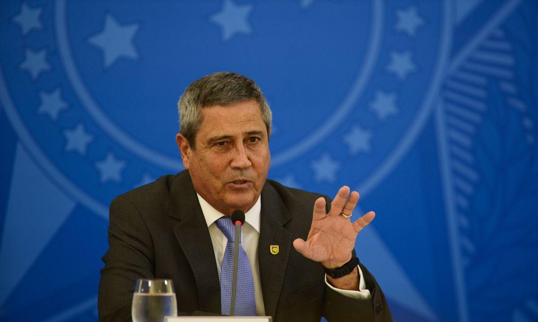 (Braga Netto participou de audiência no Senado. Foto: Marcello Casal Jr/Agência Brasil)