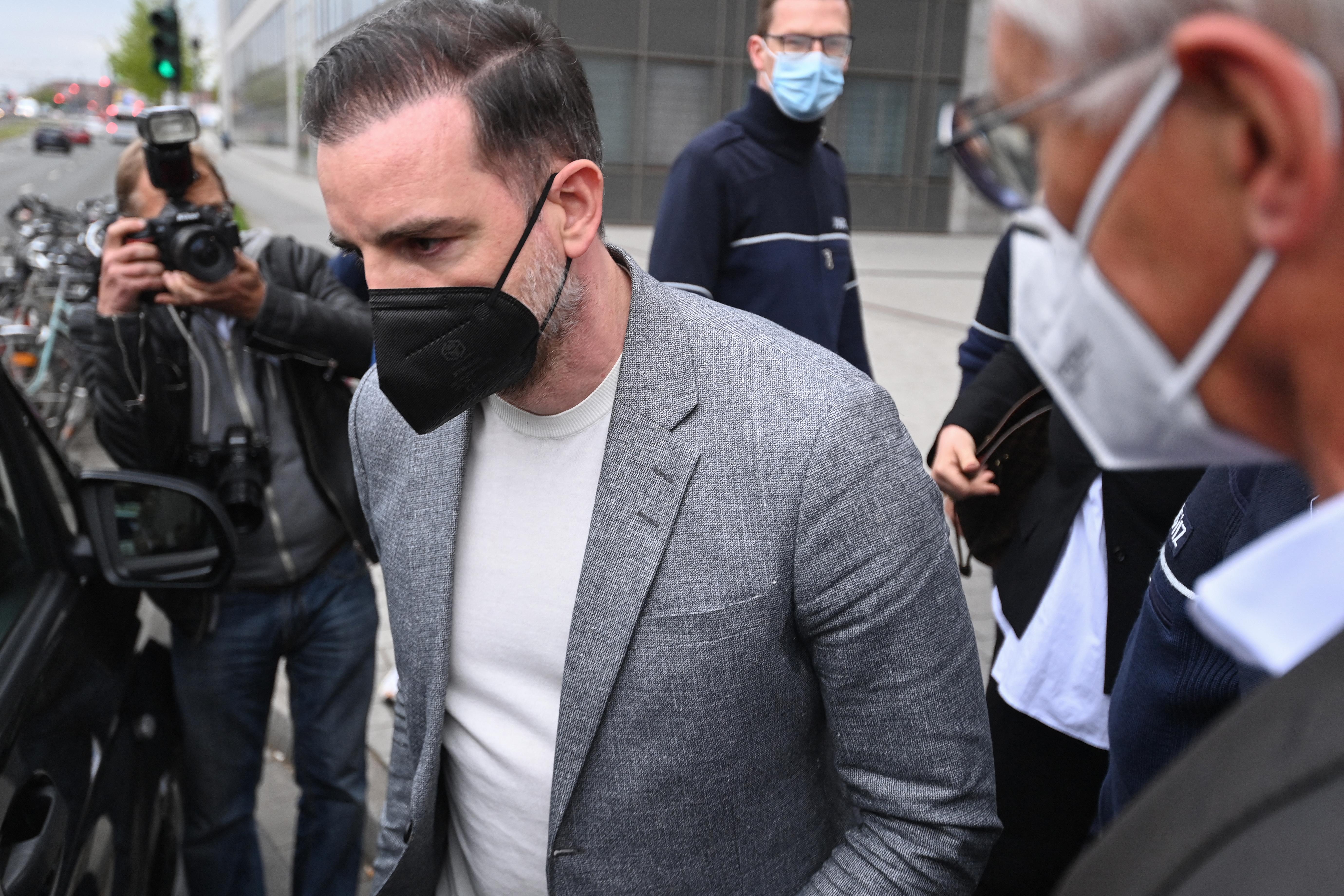 (Metzelder foi condenado após confessar que havia divulgado imagens pedófilas. Foto: Ina Fassbender / AFP)