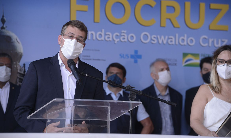 (Secretário alerta que o grande risco é não se vacinar. Foto: Tomaz Silva/Agência Brasil)