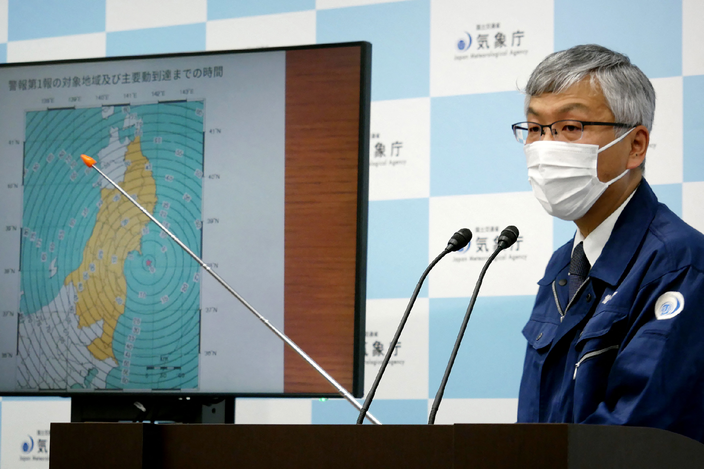 (Foto: STR / JIJI PRESS / AFP )