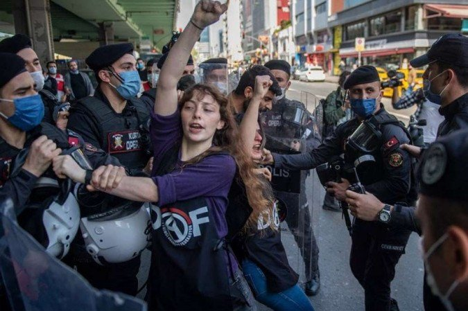(Foto: BULENT KILIC / AFP)