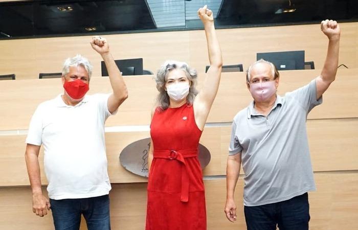 Bancada do PT na Câmara do Recife (Foto: Instagram/Reprodução)