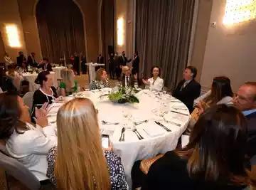 (Almoço com o presidente contou com a participação de ao menos 50 executivas, representantes de empresas como Carrefour e Adidas. Foto: Alan Santos/PR)