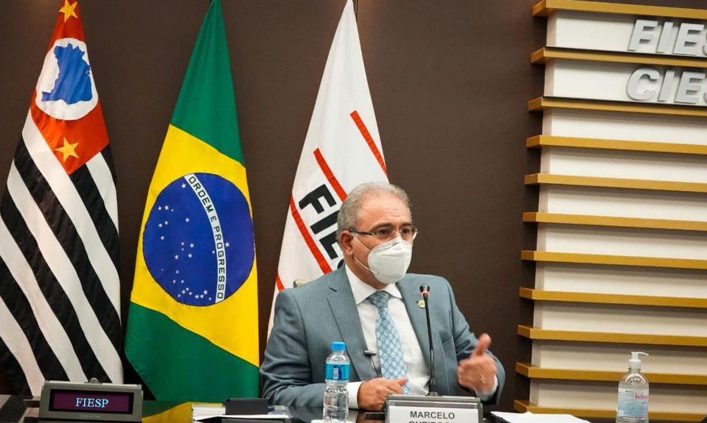 (A declaração foi feita hoje durante encontro na Fiep. Foto: Marcos Lopes/Ministério da Saúde)