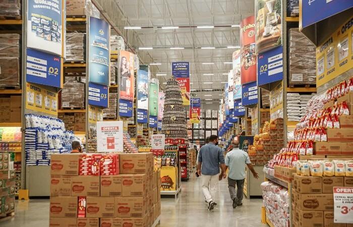 Gastos com supermercado representaram a maior das despesas da classe C e D em Pernambuco (Andréa Rêgo Barros/PCR)