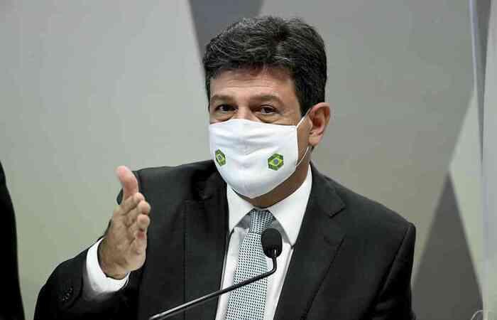 Ex-ministro da Saúde foi questionado sobre sua relação com o presidente Jair Bolsonaro (sem partido)  (Foto: Jefferson Rudy/Agência Senado )