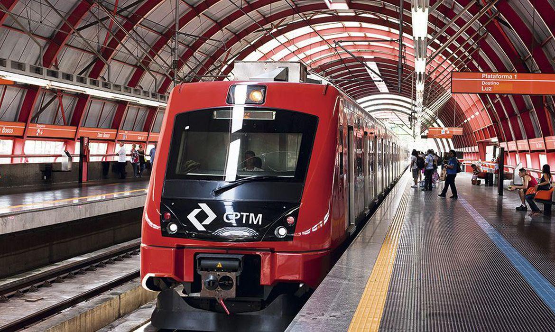 (Mudança elimina baldeações na Estação Brás. Foto: Arquivo/Governo de São Paulo)