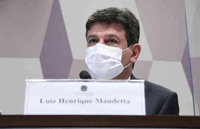 Na visão do ex-ministro da Saúde, o distanciamento entre os dois começou a ocorrer porque ele levava as notícias sobre os cenários futuros do Brasil   (foto: Edilson Rodrigues/Agência Senado )