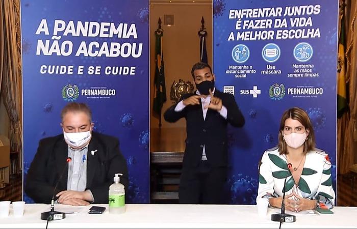 O pronunciamento se deu no mesmo dia em que Pernambuco  registrou 3.074 novos casos da Covid-19, novo recorde diário de casos confirmados (Foto: Reprodução)