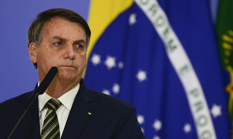 """(O presidente já chamou o Brasil de """"republiqueta"""" por realizar eleições por meio eletrônico. Disse ainda que, se o Congresso aprovar voto impresso, este será o modelo de 2022. Foto: Marcelo Casal Jr/Agência Brasil)"""