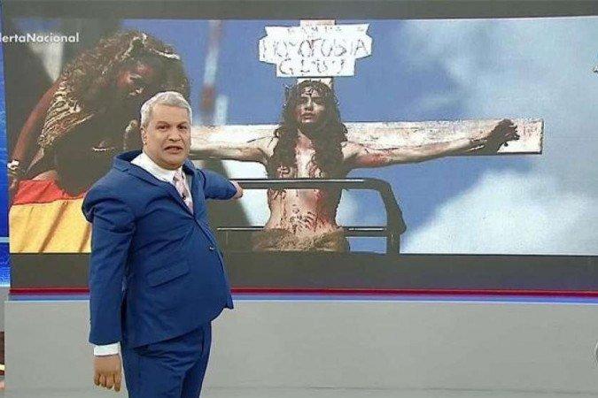 """(Segundo desembargador, o apresentador fez apenas """"uma crítica"""" a comunidade LGBT. Foto: Reprodução)"""