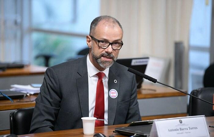 Antônio Barra Torres, presidente da Anvisa (Foto: Pedro França/Agência Senado)