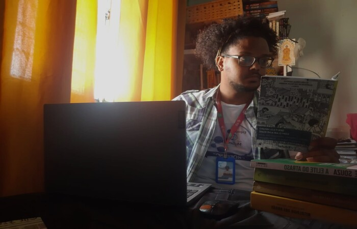 Pesquisador Gustavo Leitão, Mestrando em educação, culturas e identidades pela UFRPE/Fundaj. (Foto: Acervo Pessoal)