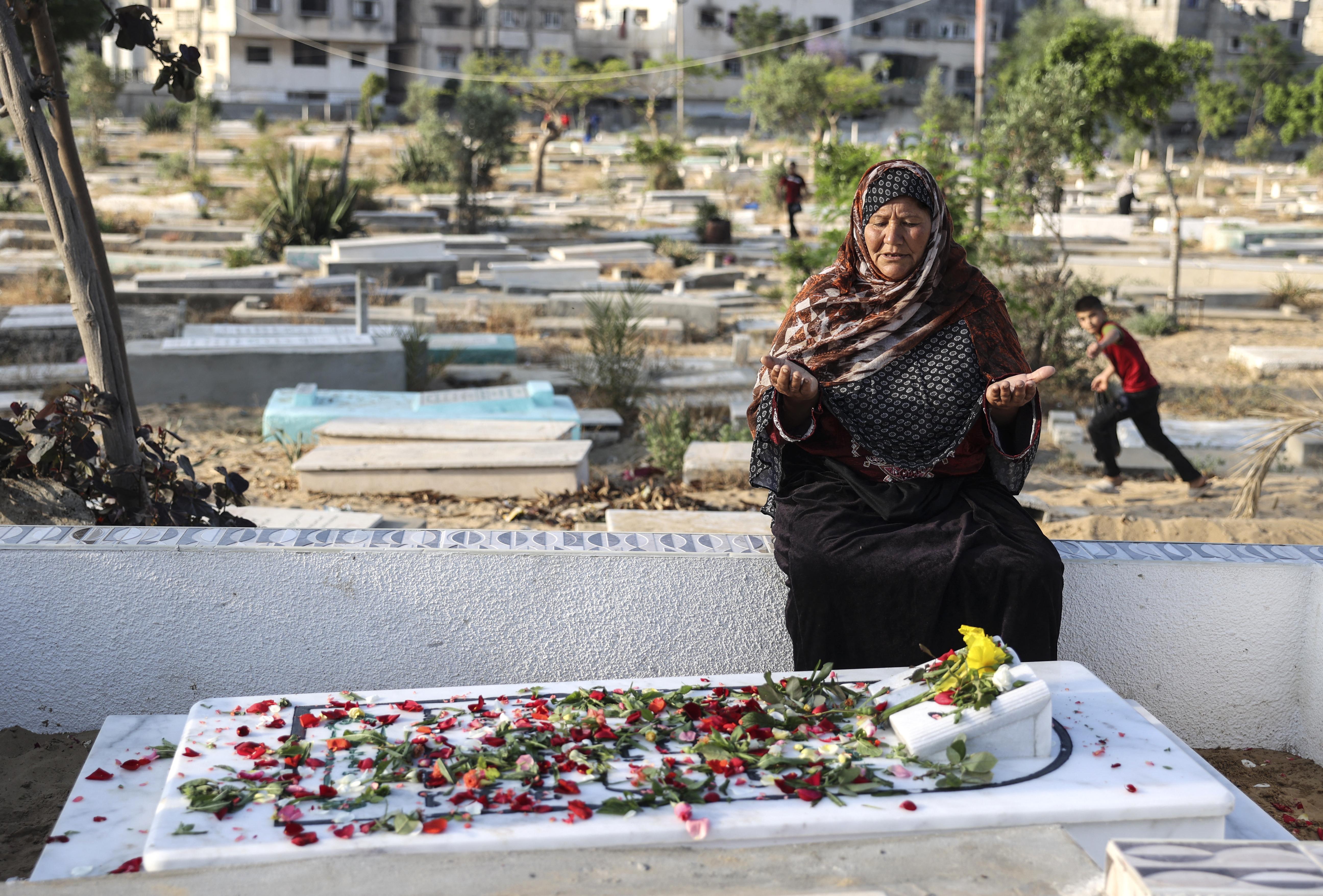 (Foto: MAHMUD HAMS / AFP)
