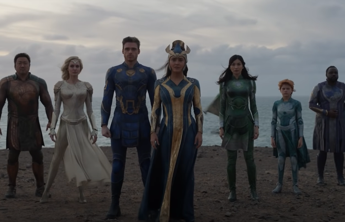 O filme promete contar história de divindades presentes no universo Marvel desde a antiguidade (Foto: Marvel Studios/Reprodução)