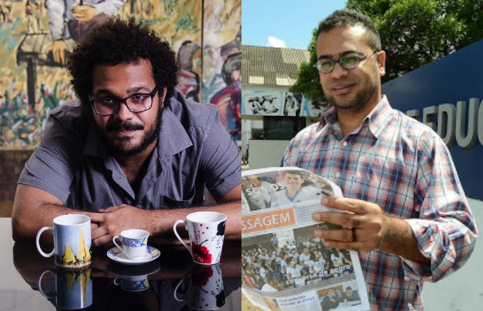 Fred Caju e Marcelo Batalha participam do debate (Foto: Jan Ribeiro e Ademar Filho/Divulgação)