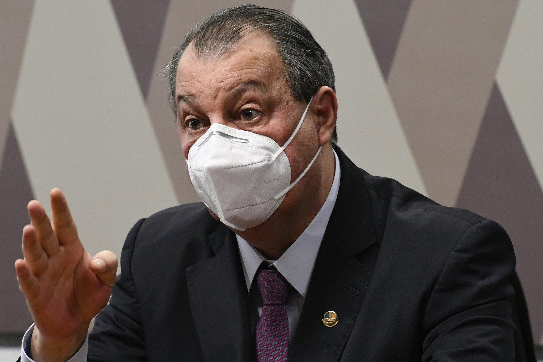 Omar Aziz (PSD-AM) afirmou, via rede social, que requerimento convocará, pelo menos, 12 prefeitos, ex-prefeitos e 9 governadores (Edilson Rodrigues / Agência Senado)