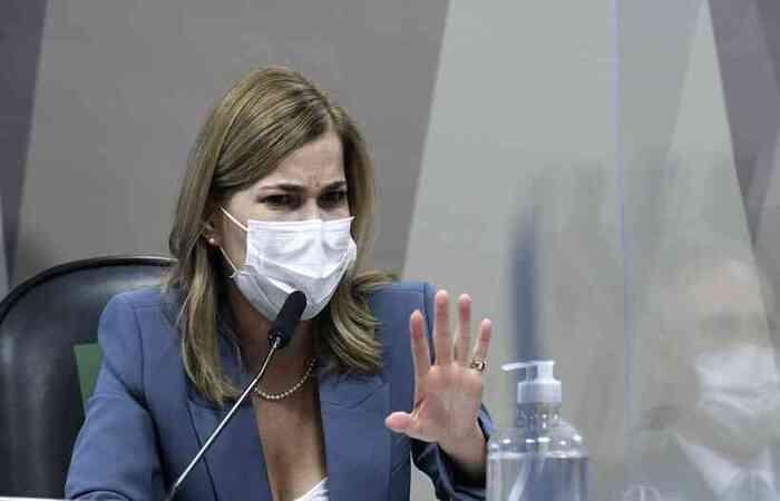 Secretária do Ministério da Saúde também afirmou que a pasta 'nunca defendeu' a tese da imunidade de rebanho no Brasil  (foto: Edilson Rodrigues/Agência Senado )