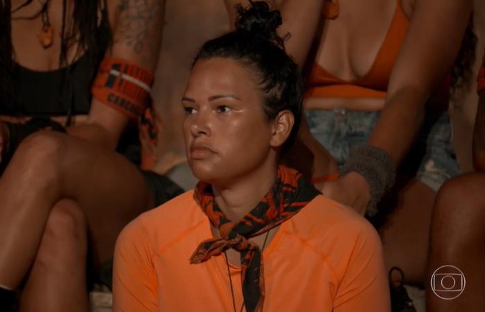 A participante acredita que o seu desempenho na primeira prova deixou uma má impressão dela (Foto: TV Globo/Reprodução)