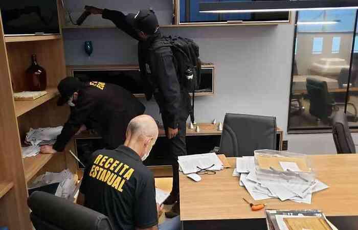 Fraudes ocorriam no setor de metais e sucata, segundo a Polícia Civil. Empresários estão entre os alvos (MPMG/Divulgação)