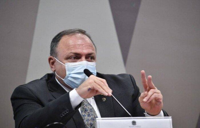 Senadores também aprovaram a convocação do atual ministro da Saúde, Marcelo Queiroga. Pazuello prestou depoimento à comissão na última semana, em dois dias  (crédito: Leopoldo Silva/Agência Senado )