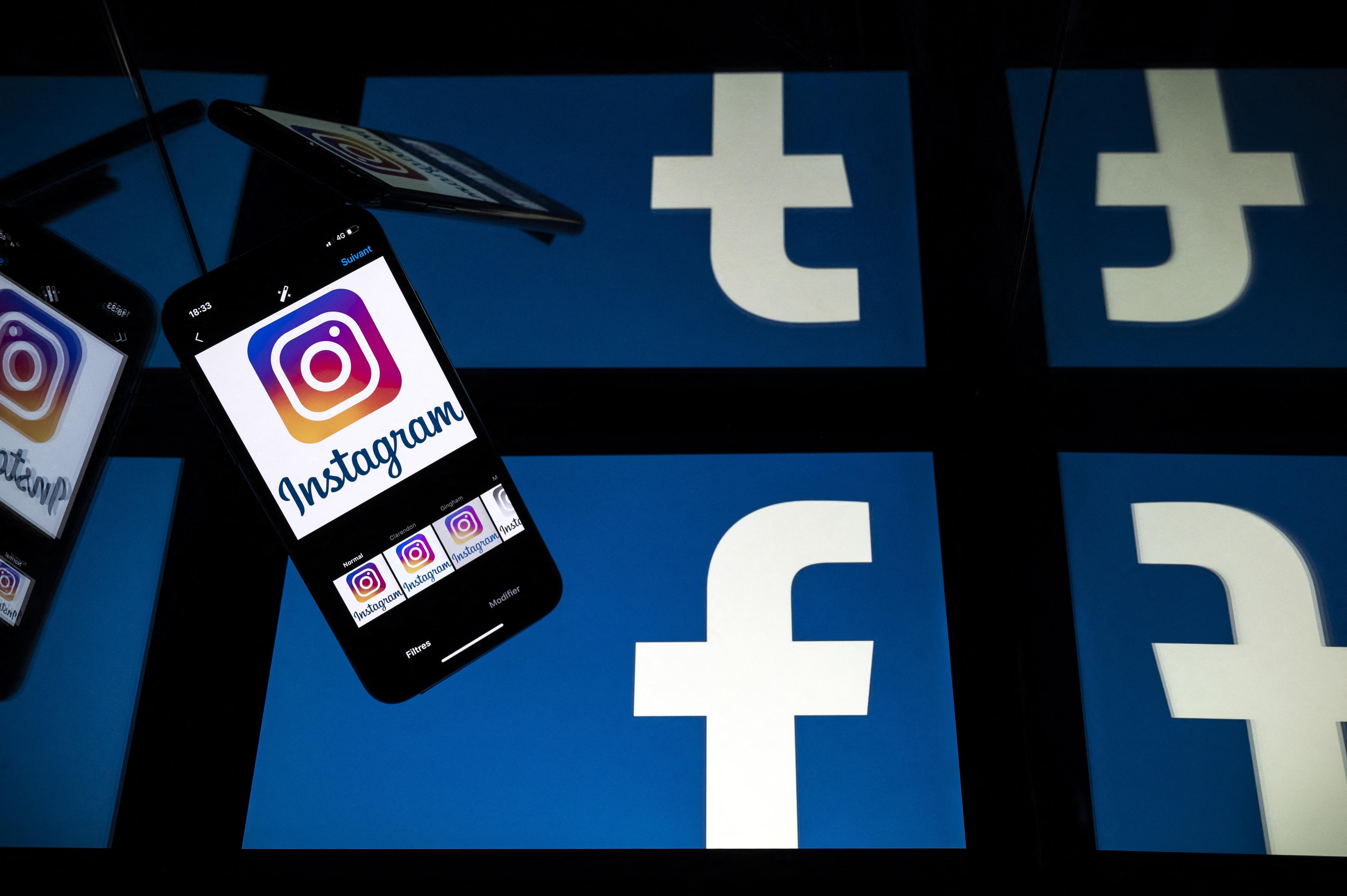 """(Os usuários das duas plataformas do grupo Facebook terão a opção de desativar o número de """"curtidas"""" sobre os conteúdos que publicam em suas contas. Foto: Lionel BONAVENTURE / AFP)"""