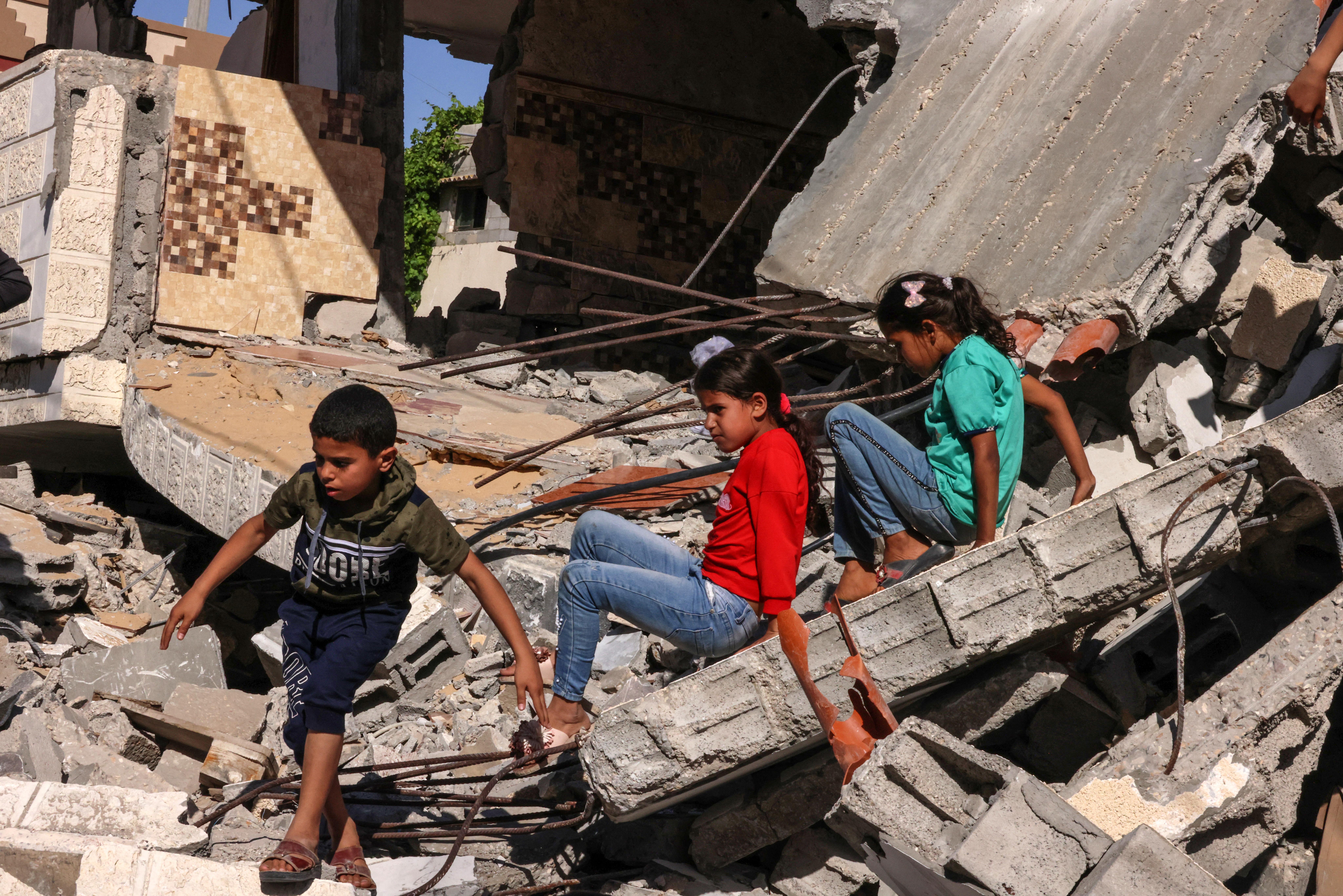 (Um cessar-fogo entrou em vigor na sexta-feira. Foto: SAID KHATIB / AFP)