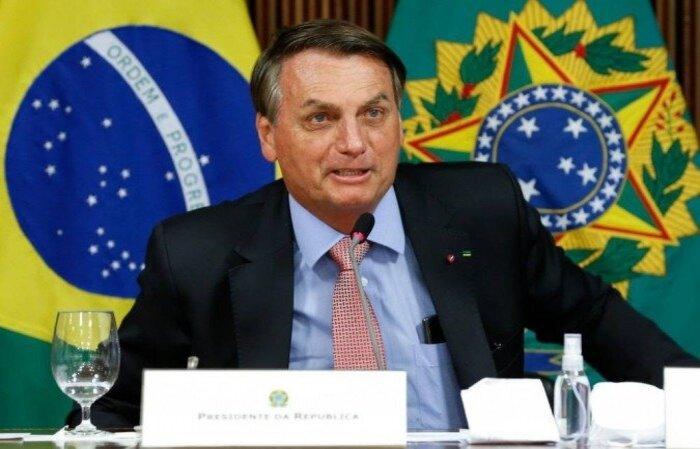 """Presidente reclama de quem usou """"discurso pseudocientífico para disfarçar a demagógica politização do vírus""""  (crédito: Alan Santos/PR )"""