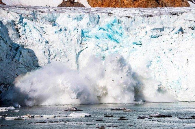 (Há 40% de chances de que a temperatura média ultrapasse esse limite por pelo menos um ano até 2025, segundo um estudo realizado pelo Escritório de Meteorologia do Reino Unido. Foto: Jonathan NACKSTRAND/AFP)