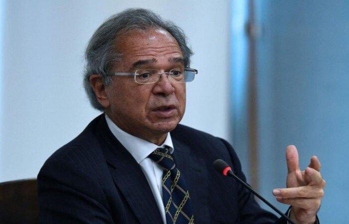Ministro da Economia disse nesta sexta-feira (27), em evento, que a reindustrialização é um dos objetivos do governo, mas destaca que a abertura comercial do Brasil será gradual, com aprovação de medidas de competitividade  (crédito: Edu Andrade/Ascom/ME )
