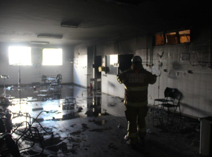 (Foto: Divulgação/Corpo de Bombeiros de Sergipe)