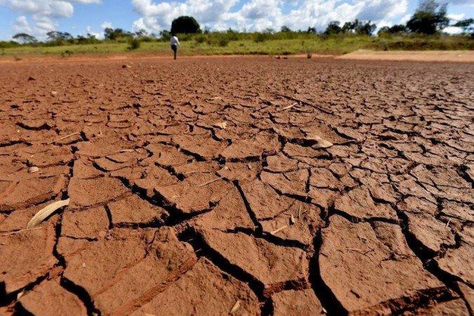 (Autoridades afirmam que a previsão é de pouco volume de chuvas para o período de junho a setembro em Minas Gerais, Goiás, Mato Grosso do Sul, São Paulo e Paraná. Foto: Gustavo Moreno/CB/D.A. Press)