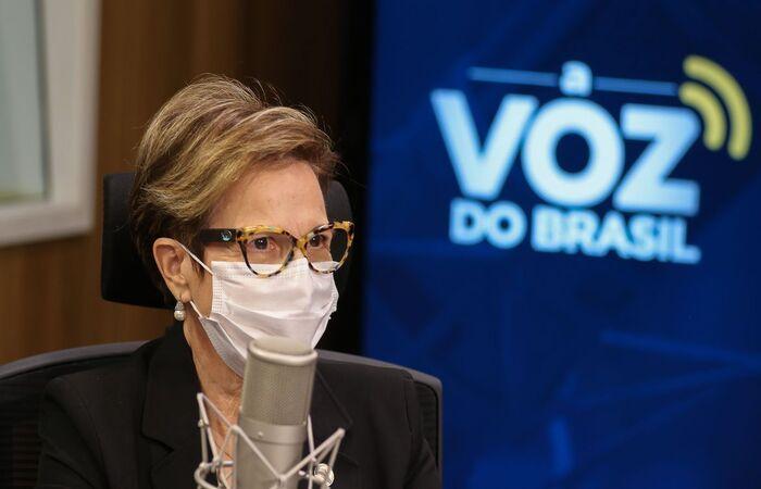 À Voz do Brasil, Tereza Cristina disse o que muda com reconhecimento (Marcello Casal Jr/Agência Brasil)
