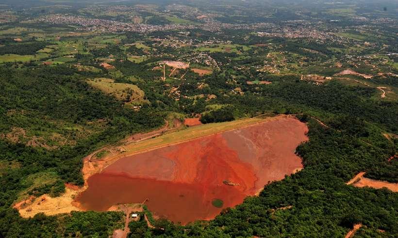 (Sobrevoo no Rio Paraopeba e nas barragens, apos o rompimento da Barragem da Mina Feijao (Corrego do Feijao) da Mineradora Vale, em Brumadinho. Foto: Ramon Lisboa/EM/D.A Press)