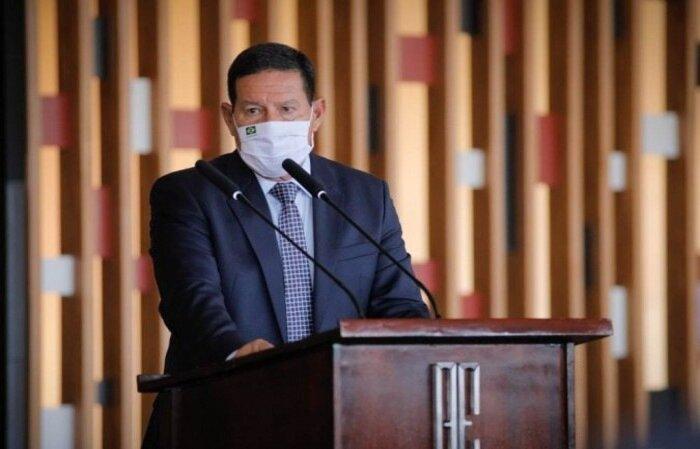 """Vice-presidente diz que país correria """"menos risco"""" ao receber o evento do que a Argentina, que seria uma das sedes do torneio deste ano  (crédito: Bruno Batista /VPR )"""