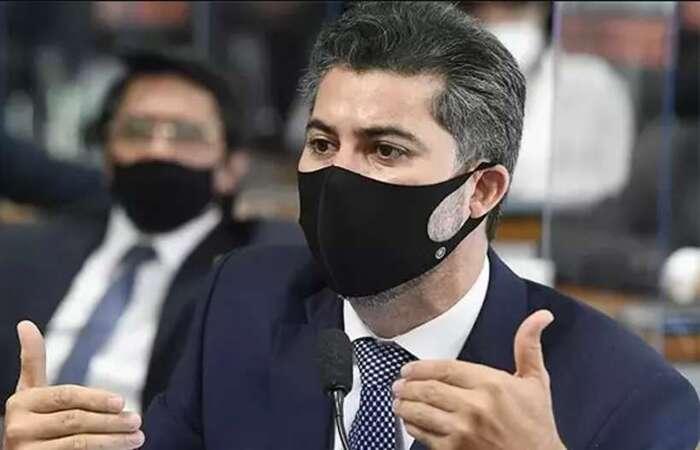 Senador disse que a população brasileira, assim como ele, é grata pelos serviços prestados durante a pandemia pela médica defensora da cloroquina  (foto: Agência Senado )