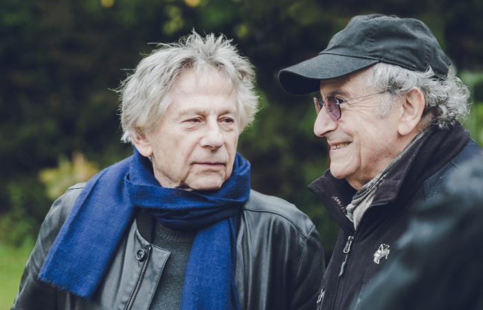 Roman Pola%u0144ski e Ryszard Horowitz (Foto: Robert S%u0142uszniak/KRK FILM)