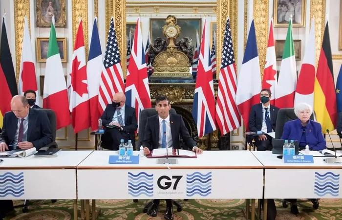 As autoridades dos países estão reunidas desde 4 de junho para discutir reforma tributária mundial histórica (Foto: Stefan Rousseau POOL/AFP)