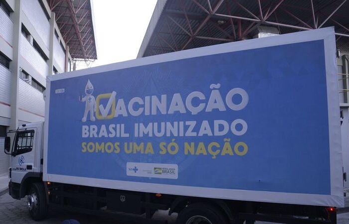 A previsão é que mais 12 milhões de doses sejam entregues este mês (Foto: Tomaz Silva/ Agência Brasil)