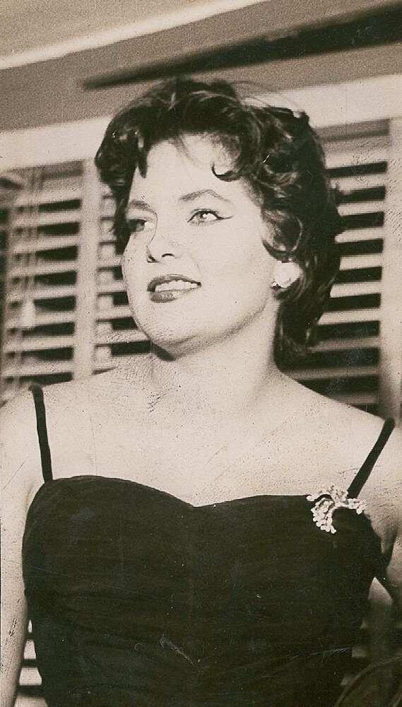 Maysa em 1956 (Foto: Arquivo Nacional/ Fundo Correio da Manhã)