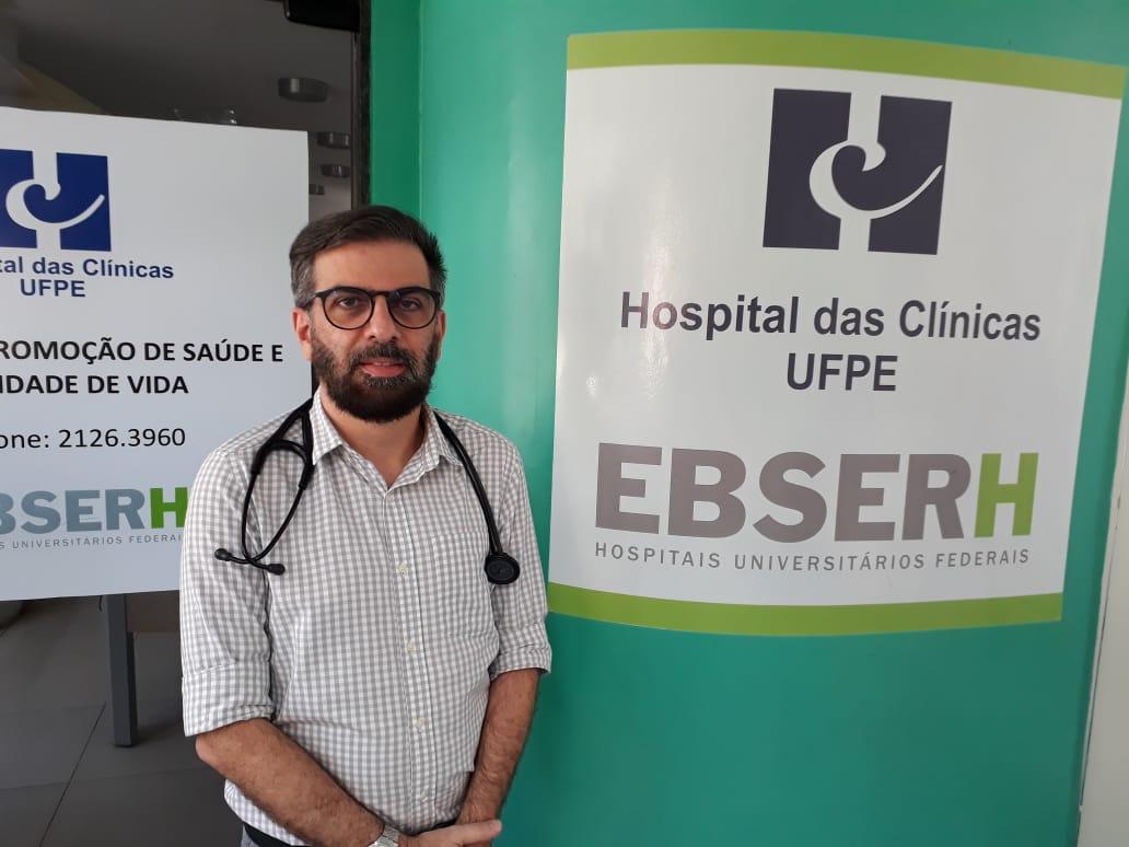 Paulo Sérgio Araújo, infectologista (ASCOM HC-UFPE-Ebserh)