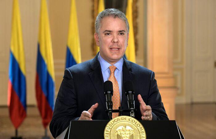 (Divulgação/Presidência da Colômbia)